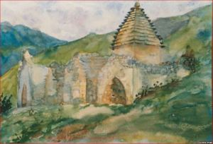 Склепы рядом с селом Салги, 1928 г.